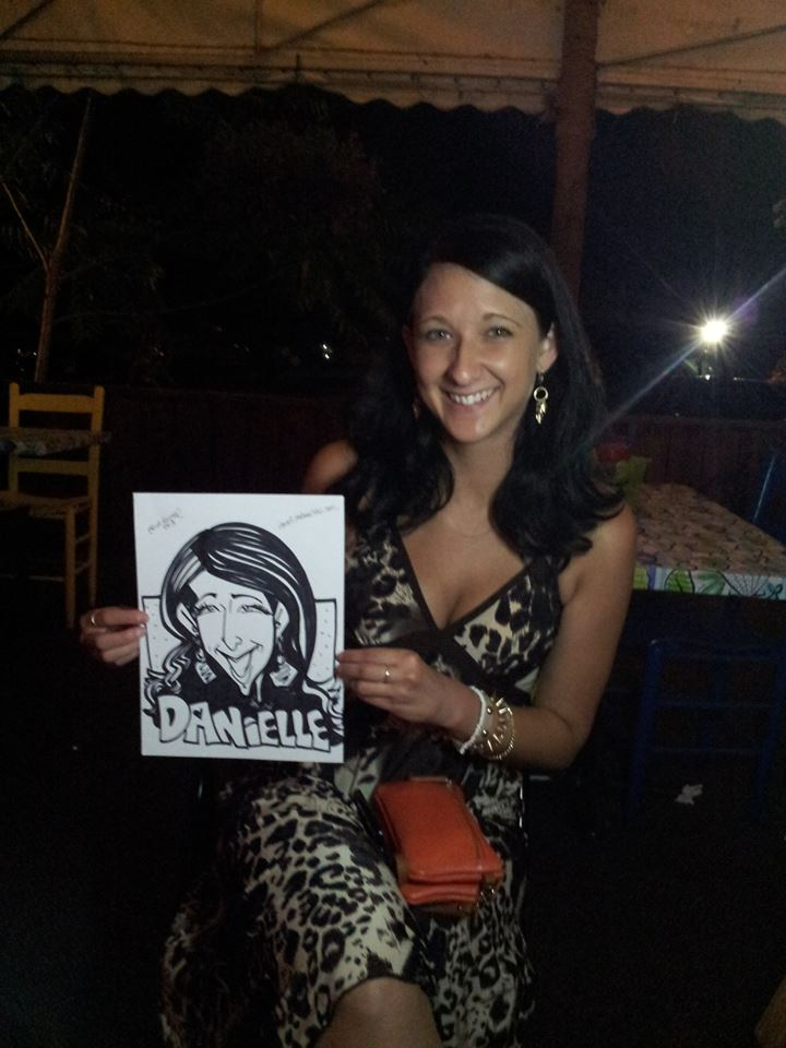 Caricatures in Dover, NH